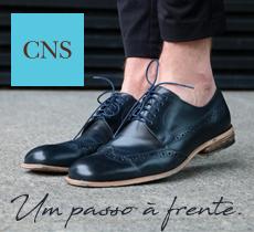 Ganhe descontos na CNS calçados masculinos