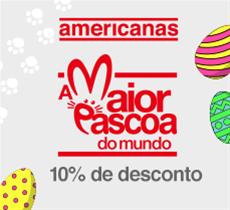 Páscoa na Americanas.com: 10% de desconto em ovos de páscoa