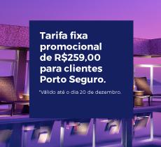 Apto duplo com diária a partir de R$ 259, no Parque Balneário Hotel