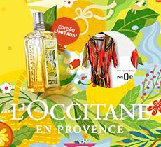 L'Occitane en Provence: ganhe 1 Kimono nas compras acima de R$ 950