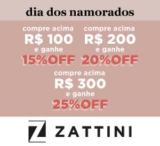 Zattini: Dia dos Namorados com descontos progressivos!