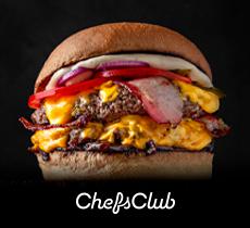 Até 30% de desconto mais 1 mês grátis no ChefsClub