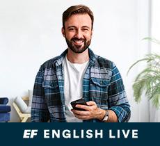 Curso exclusivo na English Live por R$89,90 mensais