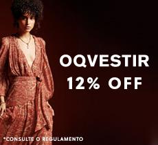 Até 15% de desconto em roupas e acessórios femininos e masculinos