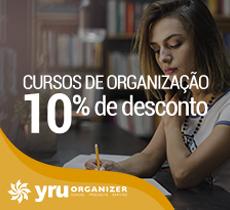 """Curso Online: 10% de desconto no curso """"Organizando a Casa Toda."""""""