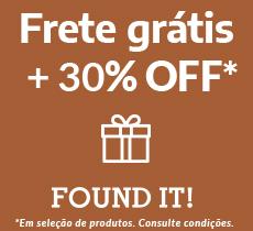 Found it: 30% off na categoria Dia dos Pais mais frete grátis*