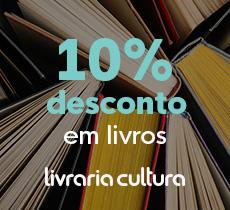 10% de desconto em livros