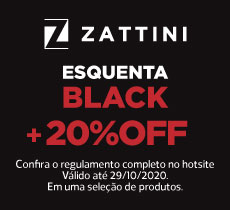 Esquenta Black Friday: 20%OFF sem valor mínimo de compra.