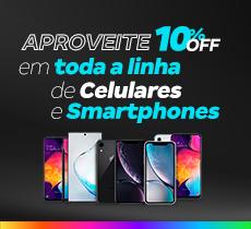 Magazine Luiza com 10% OFF em Smartphones