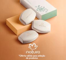 Natura: ganhe sabonete em barra nas compras acima de R$ 119,00