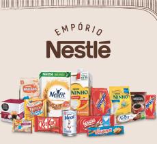 Empório Nestlé: até 12% desconto cumulativo aos descontos do site regular