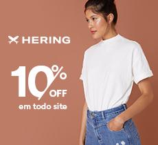 Hering: moda casual com 10% de desconto