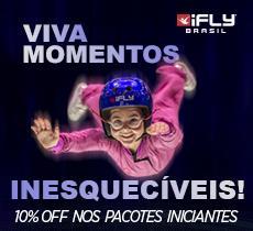 10% de desconto em paraquedismo indoor