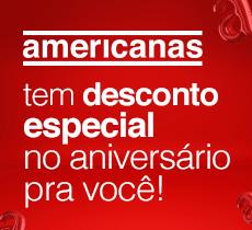 Aniversário Americanas: R$ 20,00 de desconto em itens selecionados
