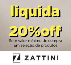Zattini Especial Verão: 20% OFF em seleção de produtos