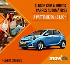 46edfe30a94fc Alugue na Movida carros automáticos à partir de R$ 121,80