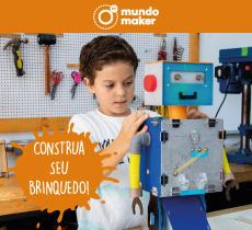 Brinquedos criativos e cursos online ou presenciais com 10% de desconto