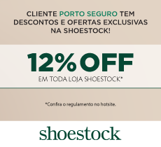 Até 15% de desconto em sapatos, bolsas e acessórios