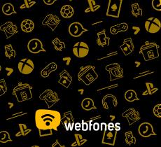Webfones: até 12% de desconto em todo o site