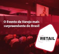 Desconto de 50% na inscrição do evento Retail Conference 2019